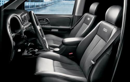 2009 Chevrolet TrailBlazer, Interior View, interior, manufacturer