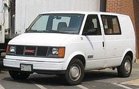 1990 GMC Safari Cargo Overview