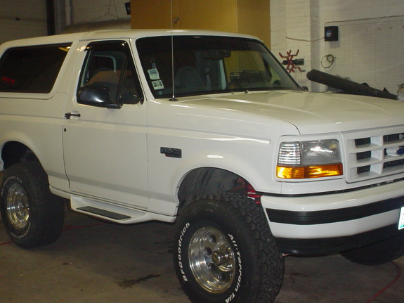 Picture of 1993 Ford Bronco XLT 4WD, exterior