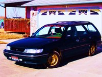 1993 Subaru Legacy 4 Dr L AWD Wagon, side from front, exterior, gallery_worthy