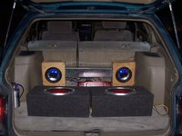 1993 Subaru Legacy 4 Dr L AWD Wagon, starter sound system: 2 140W dual 6.5in 3 ways (glow blue), 1 600w max 10in sony Xplode subwoofers, Sony Xplode 500w 2 chanel amp, 1 scosch 500 micro ferad capacit...