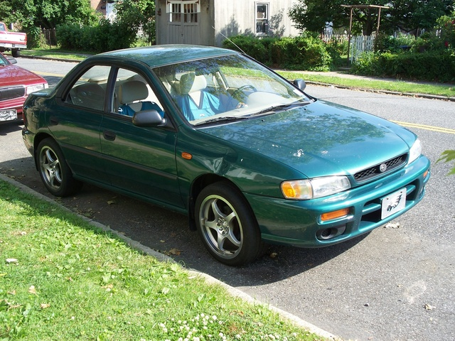 Picture of 1997 Subaru Impreza 4 Dr L AWD Sedan, exterior