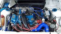 Picture of 1987 Ford Escort, engine