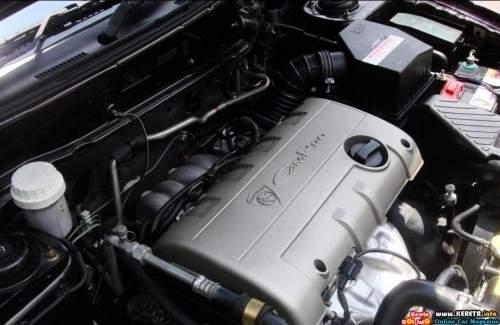 2008 Proton Satria Neo picture, engine