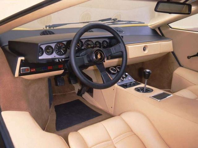 1988 Lamborghini Countach Interior Pictures Cargurus