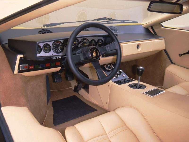 1988 lamborghini countach interior pictures cargurus. Black Bedroom Furniture Sets. Home Design Ideas