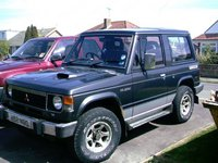 1989 Mitsubishi Pajero Overview