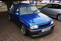 1993 Vauxhall Nova Overview