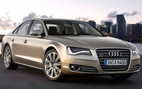 2011 Audi A8, Front Right Quarter View, exterior, manufacturer