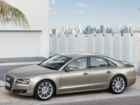 2011 Audi A8, Left Side View, exterior, manufacturer