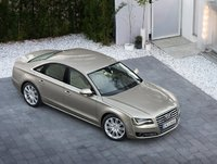 2011 Audi A8, Overhead View, exterior, manufacturer