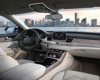 2011 Audi A8, Interior View, manufacturer, exterior, interior