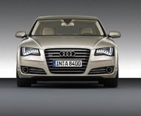 2011 Audi A8, Front View, exterior, manufacturer