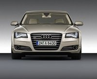 2011 Audi A8, Front View, exterior, manufacturer