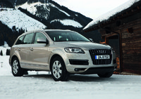 2011 Audi Q7, Front Right Quarter View, exterior, manufacturer
