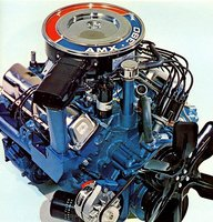 Picture of 1970 AMC AMX, engine