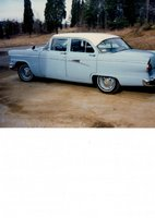 1956 Ford Fairlane, This was our first car, and I was almost born in it!  Mom had me in an hour and 20 minutes from contraction #1!  Dad did 80 all the way to the hospital!  Dad got this car as a coll...