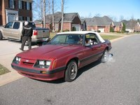 Picture of 1985 Ford Mustang Base Convertible, exterior, gallery_worthy