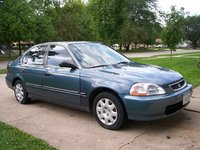 1998 Honda Civic LX, 1998 Honda Civic 4 Dr LX Sedan picture, exterior