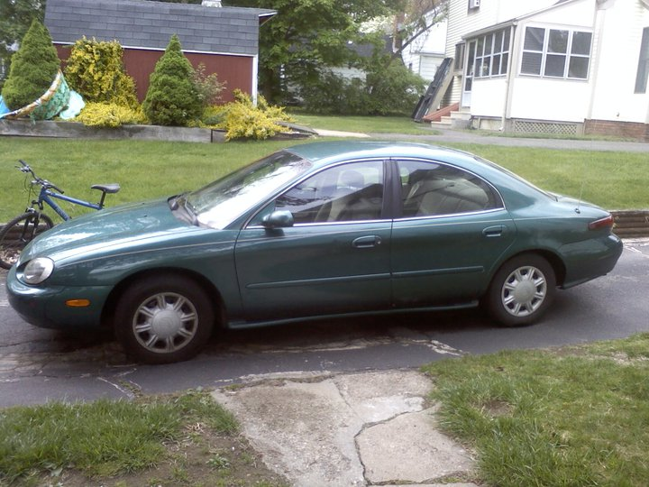 1998 Mercury Sable 4 Dr GS Sedan, this actually may be my car, exterior