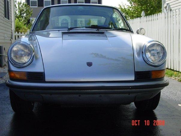 1971 Porsche 911, 1971 911T 2.2L flat 6 six cylinder, carbureted, exterior
