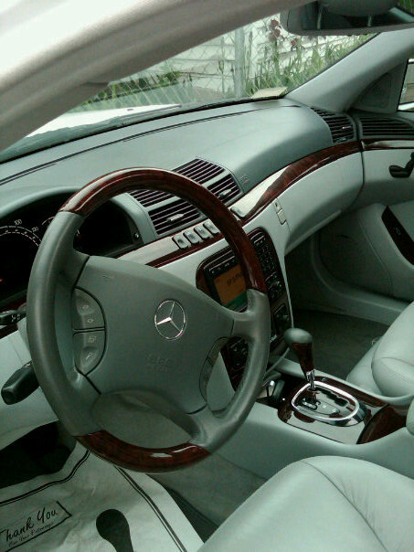 2003 Mercedes-Benz S-Class, 2003 Mercedes-Benz S500 picture, interior