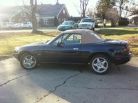 1996 Mazda MX-5 Miata M-Edition, looks like I am going to get alot of mileage tody!, exterior, gallery_worthy