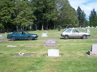 1980 Subaru Leone, My Sister's 2wd 1993 Legacy and my 4wd 1980 1600 hatch @ the Adams cemetery in molalla, exterior, gallery_worthy