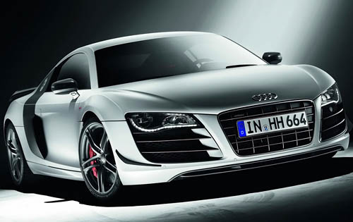 2011 Audi R8, Front Right Quarter View, manufacturer, exterior