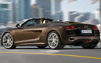2011 Audi R8, Back Left Quarter View, exterior, manufacturer
