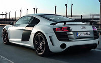 2011 Audi R8, Back Left Quarter View, manufacturer, exterior