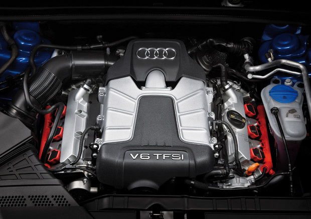 2011 Audi S4, Engine View, engine, manufacturer