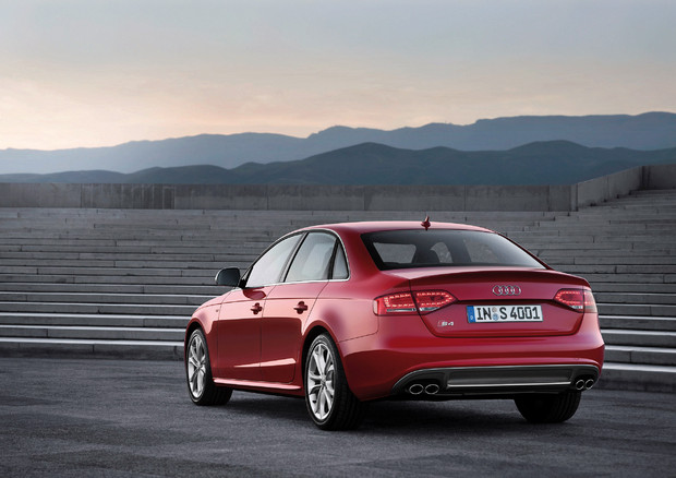 2011 Audi S4, Back Left Quarter View, manufacturer, exterior