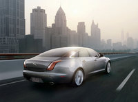 2011 Jaguar XJ-Series, Back Right Quarter View, exterior, manufacturer