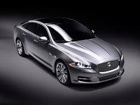 2011 Jaguar XJ-Series, Overhead View, exterior, manufacturer