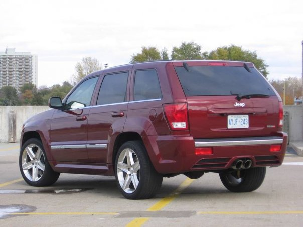picture of 2007 jeep grand cherokee srt8 exterior. Black Bedroom Furniture Sets. Home Design Ideas