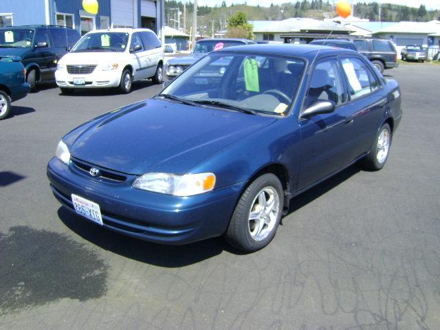Toyota Corolla 2000 Interior. 2000 Toyota Corolla 4 Dr CE