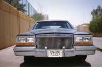 1981 Cadillac Fleetwood, My old 1981 Caddy, Saudi Arabia 1992, exterior