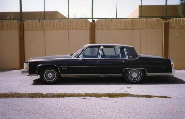 1981 Cadillac Fleetwood, Cadillac Fleetwood Brougham 1981, exterior