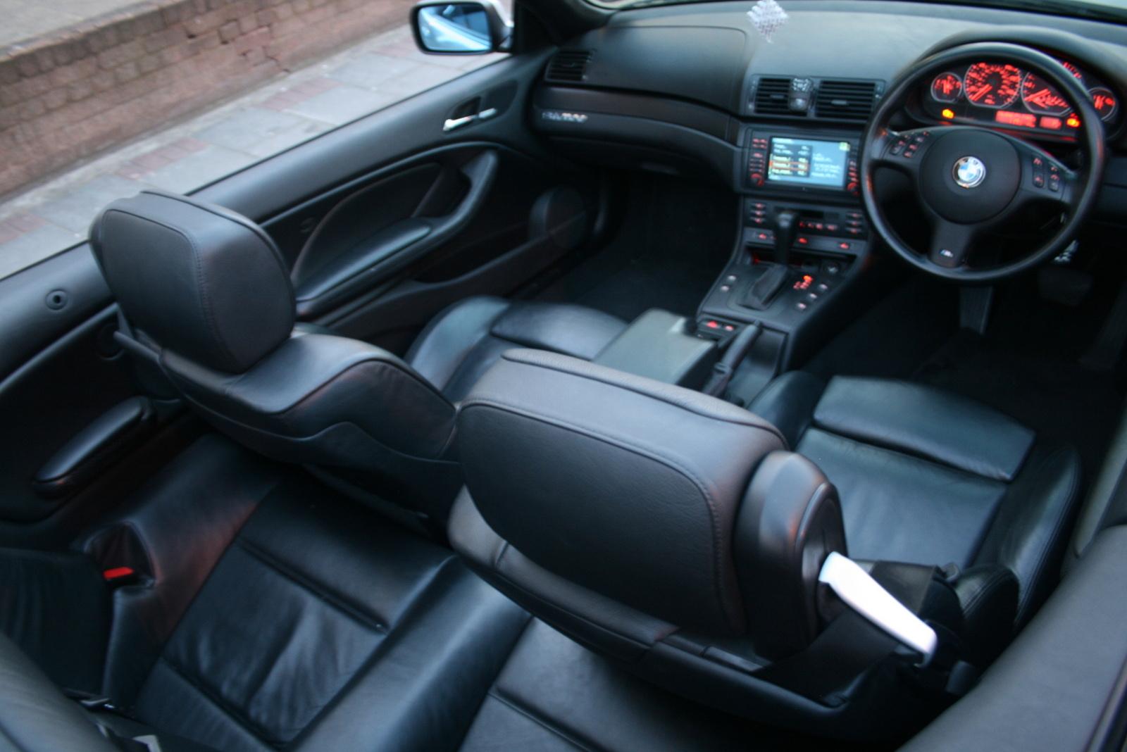 2001 Bmw 330ci Convertible Car Interior Design