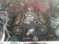 1987 Nissan Pathfinder, Heads, timing belt, cams and intake manifold installed., engine