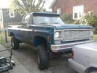 "1977 Chevrolet C/K 10, Big Boy, '77 chevy 6"" suspension on 33""  work in progress, exterior, gallery_worthy"