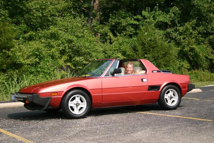 1972 Fiat X1 9. 1989 Fiat X1/9