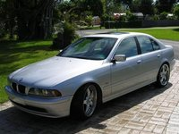 2001 BMW 5 Series 525i Sedan RWD, speedy and looks angry, exterior, gallery_worthy