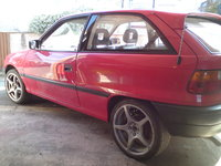 1993 Vauxhall Astra, 17's an a gsi spoiler, exterior