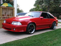 1993 Ford Mustang LX 5.0 Hatchback, someone's stang, exterior