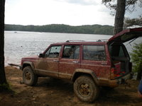 1989 Jeep Cherokee, At the end of the trail at upper sweetwater, exterior, gallery_worthy