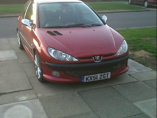 2001 Peugeot 206, My new car, exterior