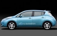 2011 Nissan Leaf, Left Side View, manufacturer, exterior