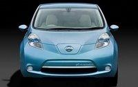 2011 Nissan Leaf, Front View, exterior, manufacturer
